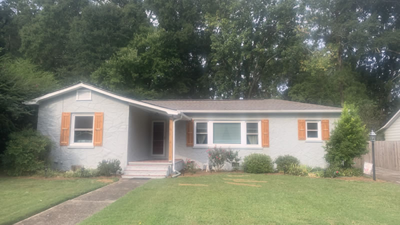 Dalton GA Home Exterior After Painting